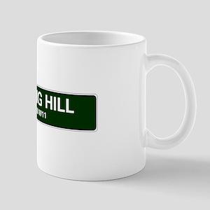 LONDON ROAD SIGNS - NOTTING HILL - LONDON W11 Mugs