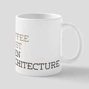 Coffee Then Architecture Mugs
