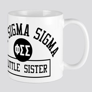 Phi Sigma Sigma Little Sister At 11 oz Ceramic Mug