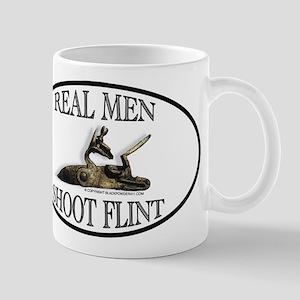 Real Men Shoot Flint Mug