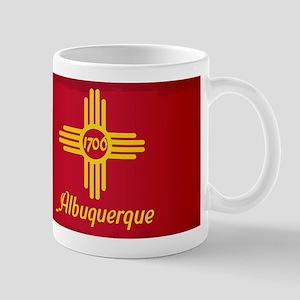 Albuquerque City Flag Mugs