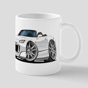 s2000 White Car Mug