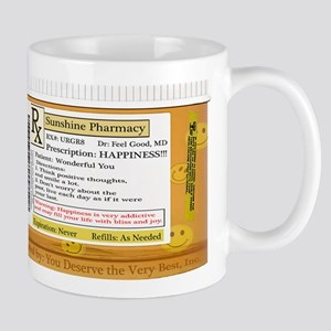 Happiness is the Best Medicine - Dr Feel Good Mugs