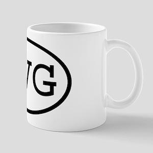 TVG Oval Mug