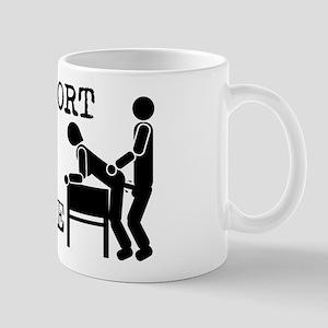 I Support Office Romance Mug