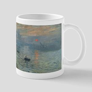 Claude Monet's Impression, Soleil Levant Mugs