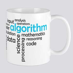 word cloud - algorithm Mugs