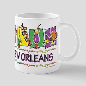 New Orleans Squares Mug