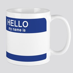 Hello my name is Blank Mug