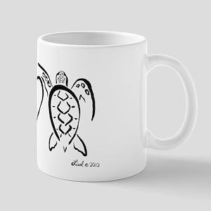 Peace, Love & Turtles Mug