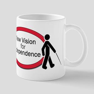 New Vision logo Mugs