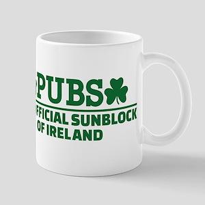 Pubs official sunblock of Ireland Mug
