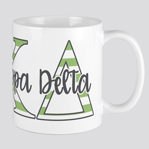 Kappa Delta Letters 11 oz Ceramic Mug