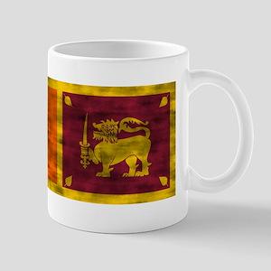 Distressed Sri Lanka Flag Mugs