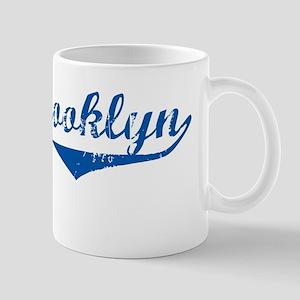 Brooklyn Blue Mug