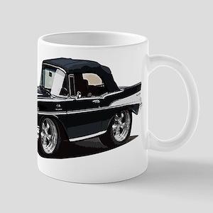 BabyAmericanMuscleCar_57BelR_Black Mugs