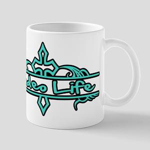 Rodeo Life-Turquoise Mugs