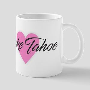 I Heart Lake Tahoe Mugs