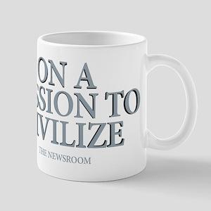 The Newsroom: Mission To Civilize Mug
