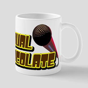 Sexual Chocolate square Mugs