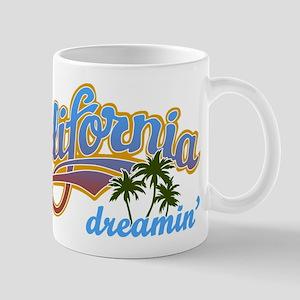 CALIFORNIA DREAMIN Mugs