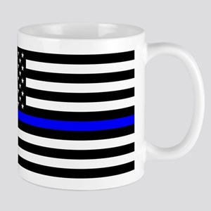Police: Black Flag & The Thin Blue Line Mugs