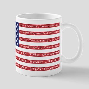 2nd Amendment Flag Mug
