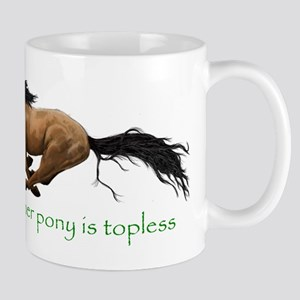 my other pony is topless Mugs