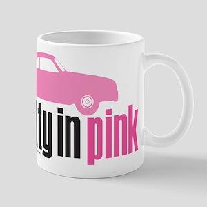 Pretty in Pink Car 11 oz Ceramic Mug