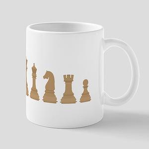 Chess Pieces Mugs