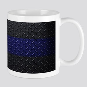 Police Diamond Plate Mugs