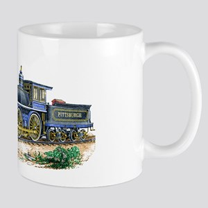 1894 Locomotive Sketch Mugs