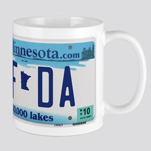 """Minnesota """"Uffda"""" Mug"""