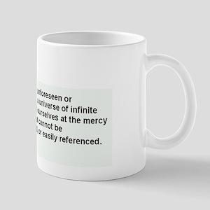 If we fail to anticipate Mugs