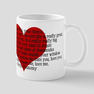 Pick Choose Love Me Mug