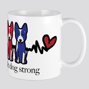 cattle dog strong Mugs