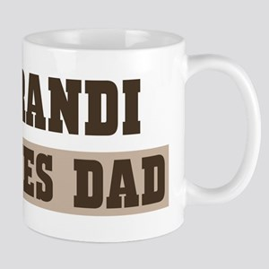 Brandi loves dad Mug