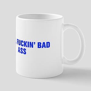 Total fuckin bad ass-Akz blue Mugs