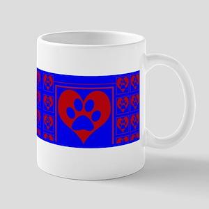love dog dish Mugs
