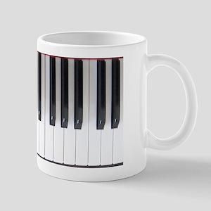 Piano Keyboard 6 Mug