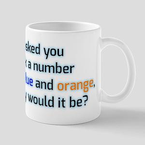 Confused and dazed Mug
