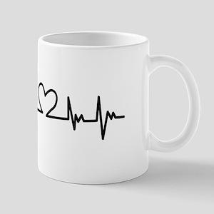 Heart Beat Mugs