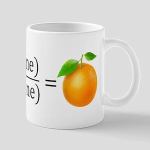 tan(gerine) math Mugs