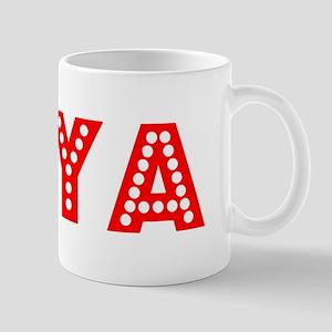 Retro Diya (Red) Mug