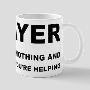 Prayer: Doing Nothing Yet Helping Mug