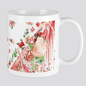 Rose Manila Flamingo Mugs