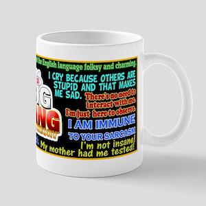 Sheldon Cooper Quotes Mug