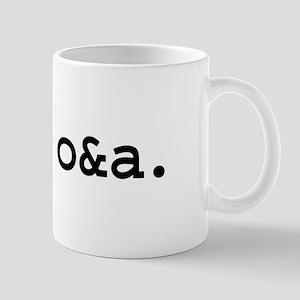 save o&a. Mug