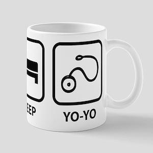EatSleepYoyo1A Mugs