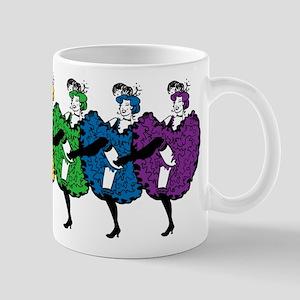 Rainbow CanCan Dancers Mug